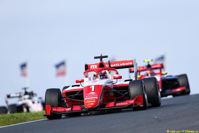 Ф3: Хаугер выиграл воскресную гонку, Смоляр – третий