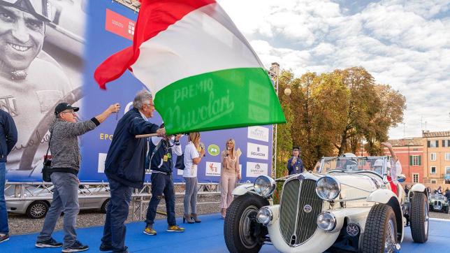 Старт Гран При Нуволари, фото пресс-службы соревнований