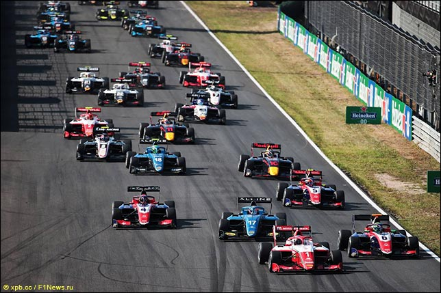 Формула 3: Первая гонка перенесена на пятницу