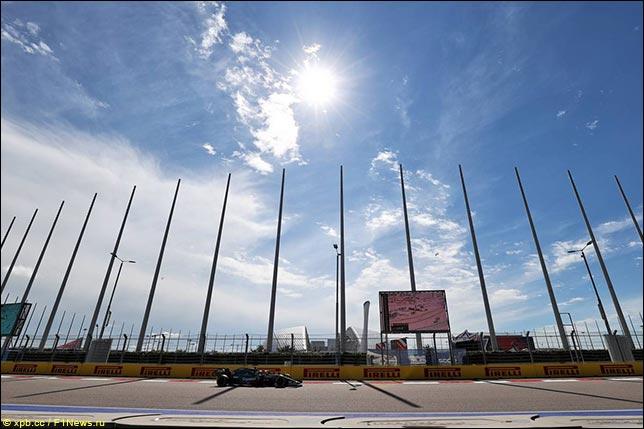 Небо над Сочи Автодромом