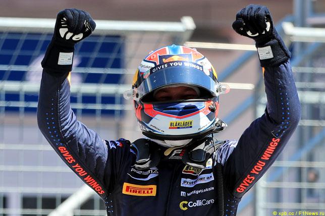Ф3: Сарджент выиграл гонку, Хаугер – титул