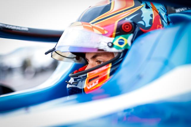 Фелипе Другович, гонщик команды UNI-Virtuosi, фото пресс-службы Формулы 2