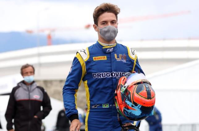 Ф2: Фелипе Другович пропустит воскресную гонку