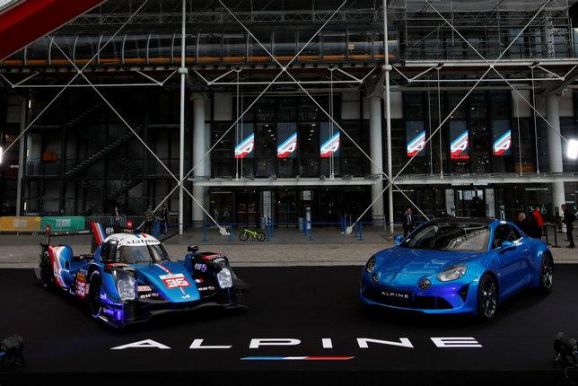 Машины Alpine