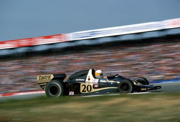Джоди Шектер на Гран При Германии 1977 года