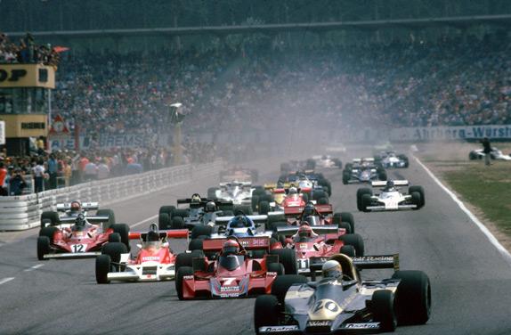 Старт Гран При Германии 1977 года