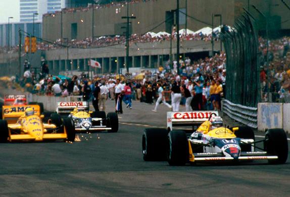 Старт Гран При Детройта 1987 года