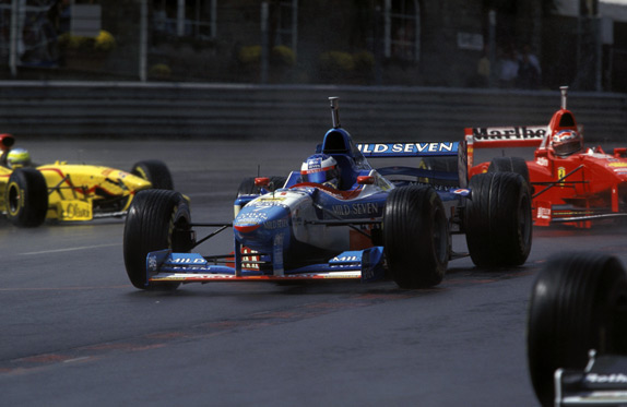 Жан Алези на Гран При Бельгии 1997 года