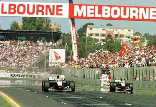 Финиш Гран При Австралии'98