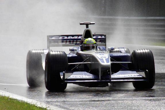 Ральф Шумахер на Гран При Бельгии 2001 года
