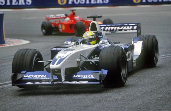 Ральф и Михаэль Шумахеры на Гран При Бельгии 2001 года
