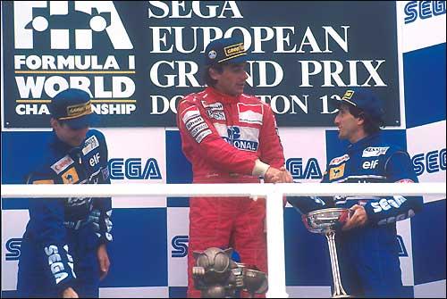 Подиум Гран При Европы'93