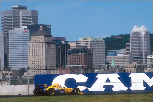 Гран При Канады'91. Нельсон Пике