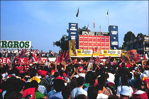 Подиум Гран При Италии'88