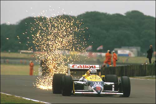 Гран При Великобритании'87. Найджел Мэнселл