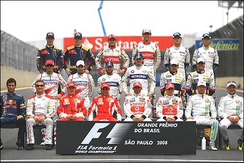 Групповая фотография на финише чемпионата