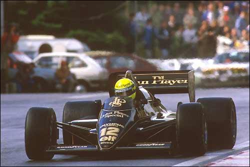 Гран При Бельгии'85. Айртон Сенна. Lotus 97T Renault