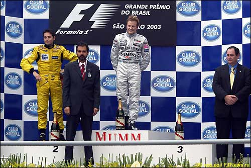 Подиум Гран При Бразилии
