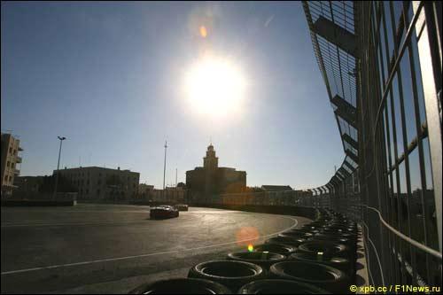 Машины OpenGT первыми опробовали трассу в Валенсии