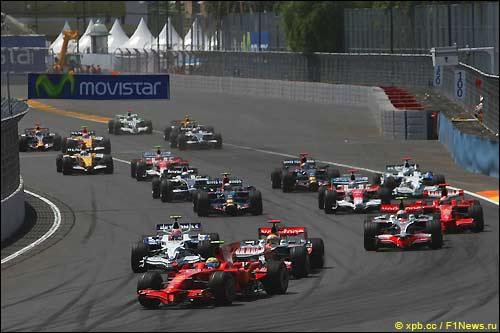 Старт Гран При Европы