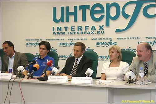 Пресс-конференция Moscow City Racin