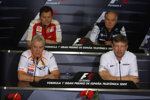 Гран При Испании. Пресс-конференция в пятницу.