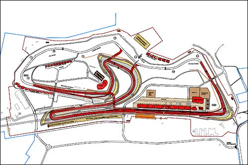 План реконструкции Доннингтон-парка