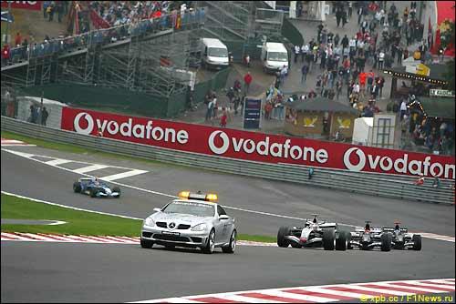Гран При Бельгии'05. Машина безопасности