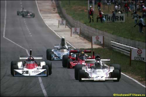 Гран При ЮАР, 1976 год, трасса Кайлами