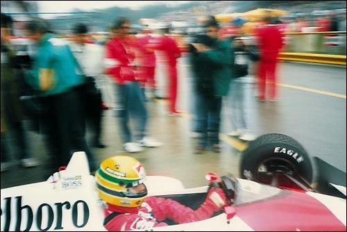 Айртон Сенна. Гран При Сан-Марино'88