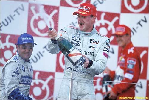 Подиум Гран При Японии'01