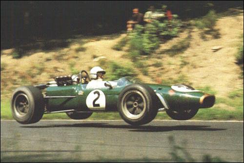 Денни Халм. Гран При Германии'67