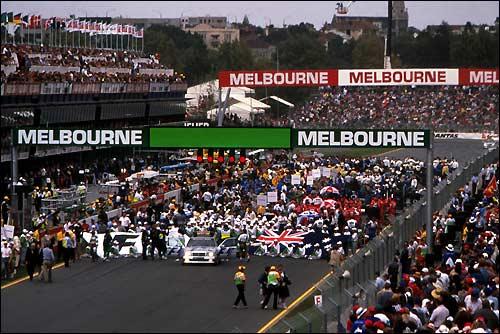 Гран При Австралии'97. Перед стартом