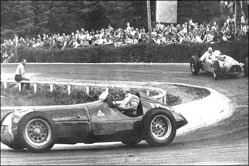 Гран При Бельгии'50. Фуан-Мануэль Фанхио и Раймон Соммер