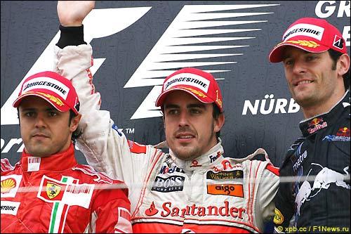Подиум Гран При Европы'07