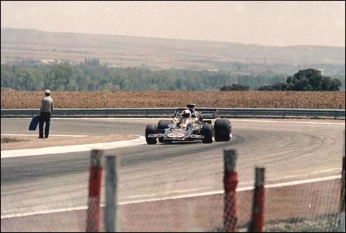 Гран При Испании 1972 года. Эмерсон Фиттипальди