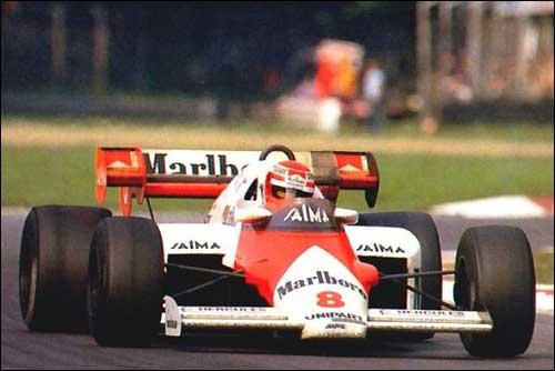Ники Лауда. Гран При Италии'84