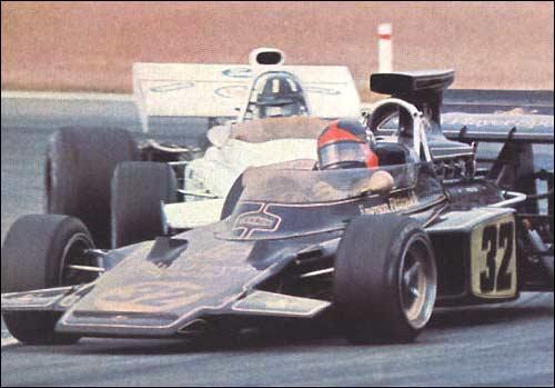 Эмерсон Фиттипальди. Гран При Бельгии'72