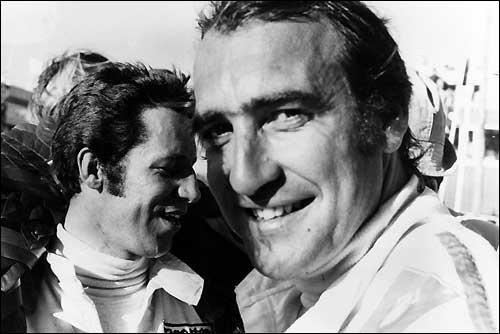 Марио Андретти и Клей Регаццони. Гран При ЮАР'71