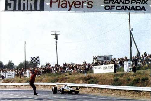 Финиш Гран При Канады'69