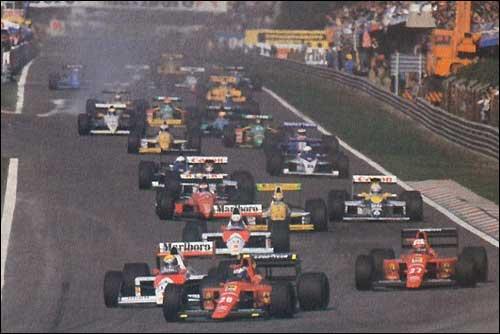 Старт Гран При Португалии'89