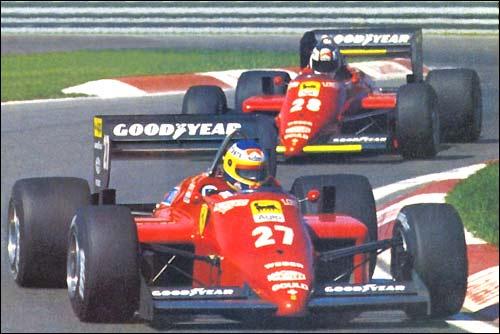 Гран При Канады 1985 года. Микеле Альборето и Стефан Йоханссон