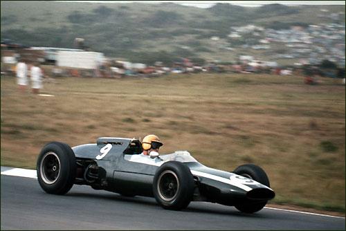 Тони Мэггз - 3-й призер Гран При ЮАР 1962 года