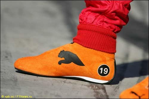 Гоночная обувь Puma