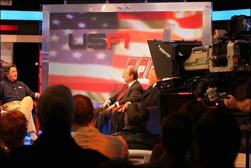 Презентация проекта USF1  в студии SpeedTV