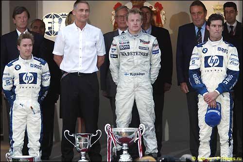 Подиум Гран При Монако'05