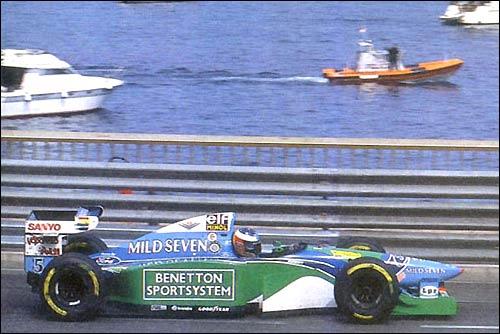 Гран При Монако'94. Михаэль Шумахер