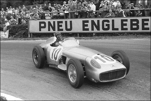 Гран При Бельгии 1955. Хуан-Мануэль Фанхио