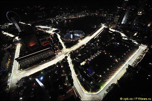 Трасса в Сингапуре