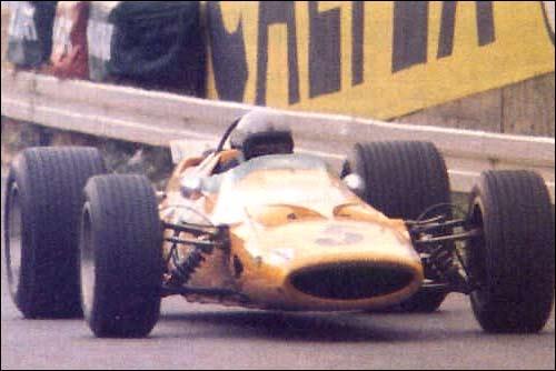 Гран При Бельгии'68. Брюс Макларен